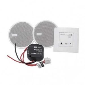 گیرنده صوتی بلوتوثی با ۲ عدد باند سقفی سفید رنگ