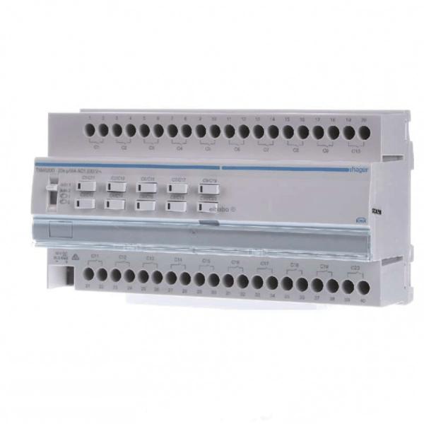فعال ساز سوئیچ پرده برقی ۲۰ کانال Hager هر کانال ۱۶ آمپر