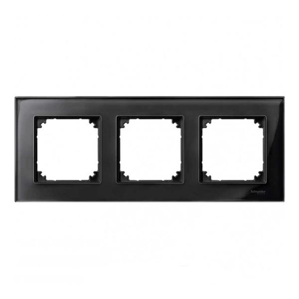 قاب سه خانه شیشه ای اشنایدر مدل M-Elegance