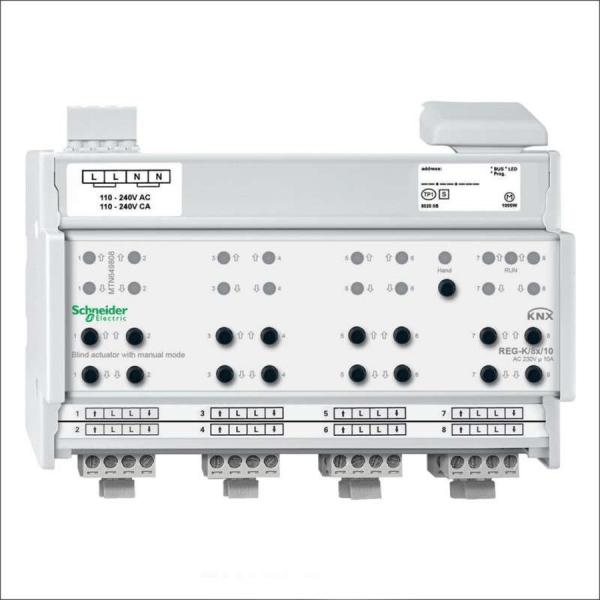 فعال ساز پرده برقی 8 کانال 10 آمپر اشنایدر