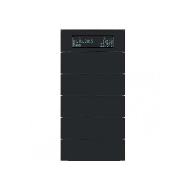 کلید 10 پل ترموستاتیک Hager مشکی مدل B.IQ