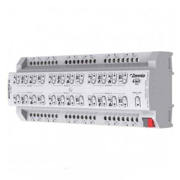 فعال ساز کومبو 24 کاناله Zennio هر کانال 16 آمپر