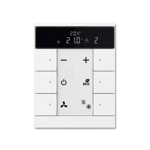 کلید هوشمند کنترل کننده دمای اتاق 6 پنل