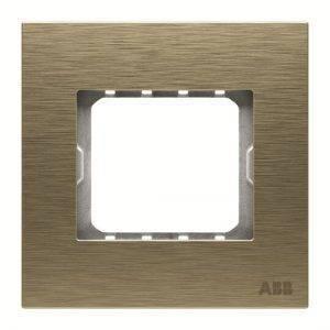 قاب طلایی مات فلزی ABB