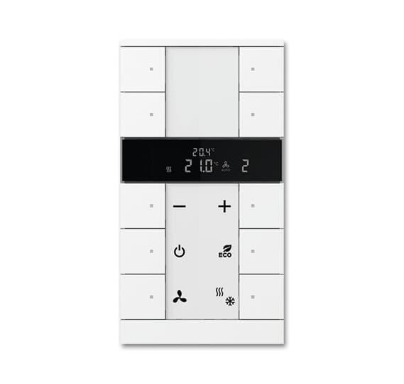 کلید هوشمند کنترل کننده دمای اتاق 10 پنل